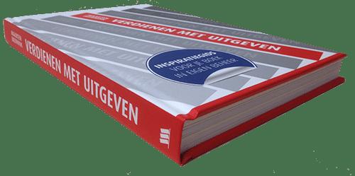 boek verdienen met uitgeven liggend-lores