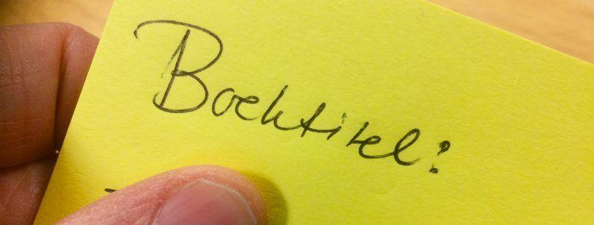 Boektitel bedenken met hulp van Titelbank