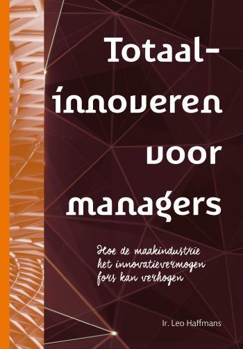 Cover totaalinnoveren voor managers