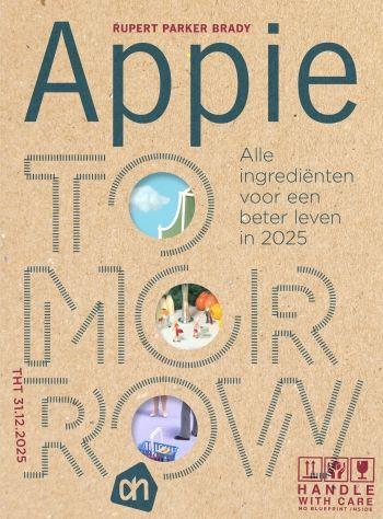 Het Boekenschap - Appie Tomorrow - toekomstboek Albert Heijn