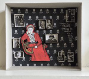 Diorama Marie Curie